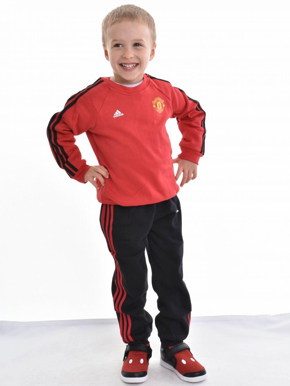 Adidas bébi fiú melegítő MUFC 3S BBY J