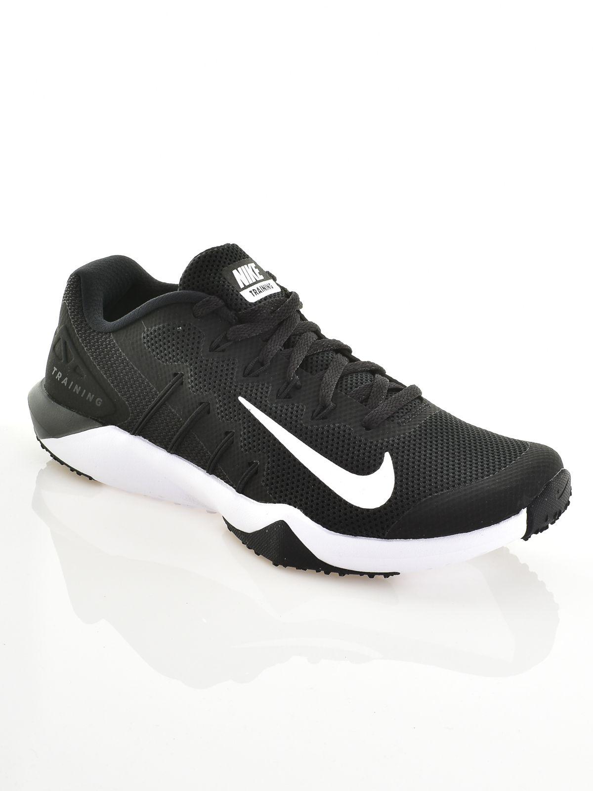 Olcsó Nike Zoom Train Action Cipő Férfi Fekete Kék Fehér