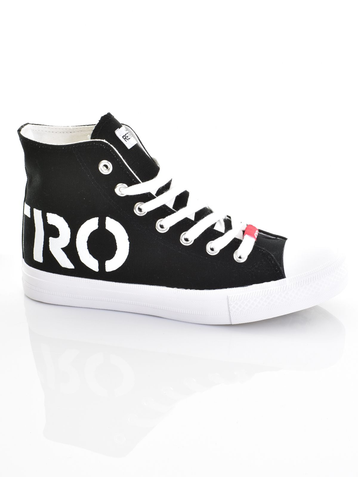 Retro cipő magasszárú SNEAKERS Jeans férfi HIGH CLAXTON Akciós IBw6q6