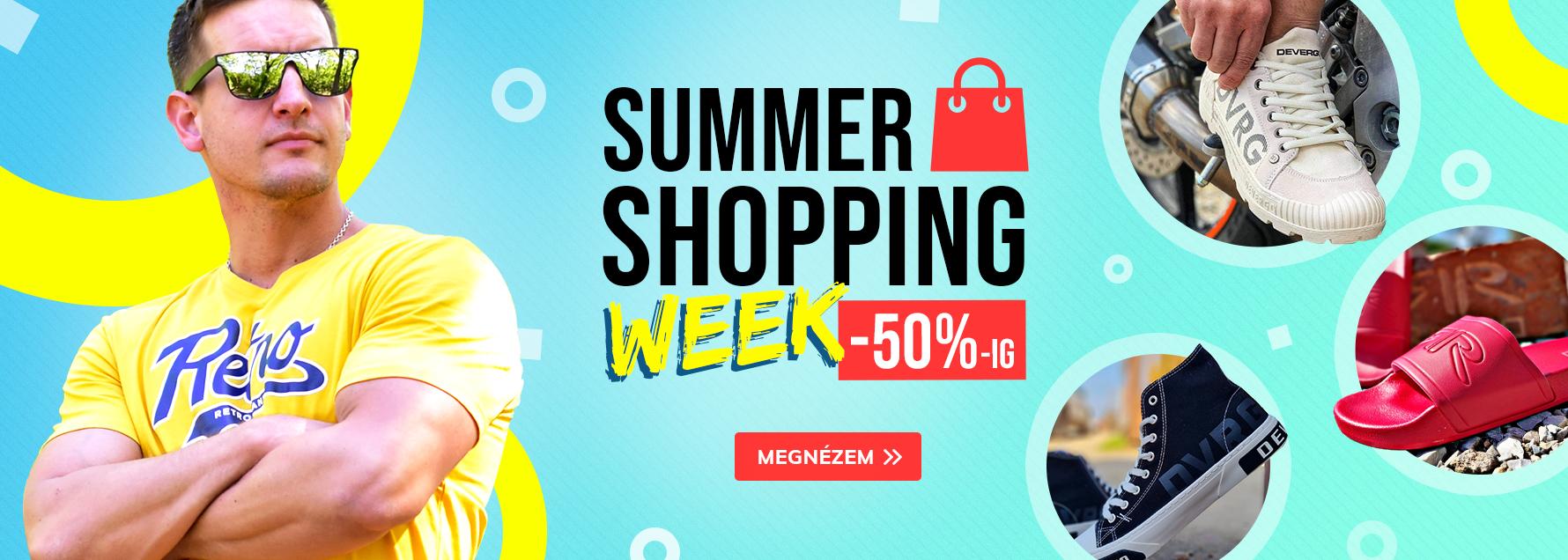 Summer shopping week