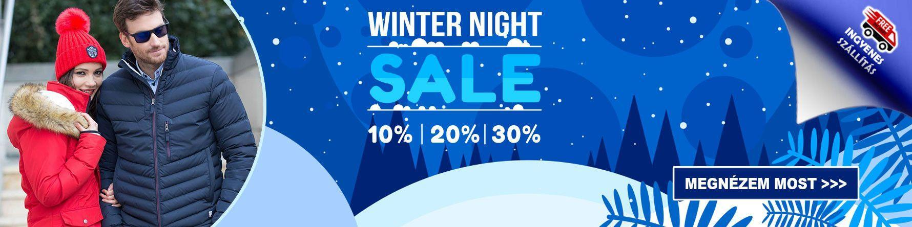 WINTER NIGHT SALE