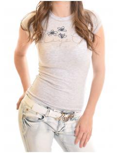 Mayo Chix női póló LIGHT HÍMZETT