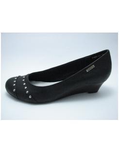 Ambergray női telitalpú szegecses cipő