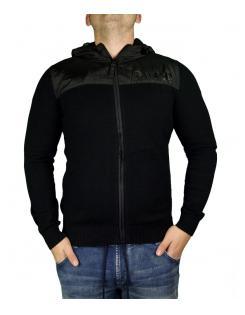 Devergo férfi zippes kapucnis pulóver