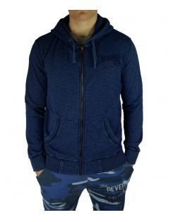 Devergo férfi zippes-kapucnis pulóvere