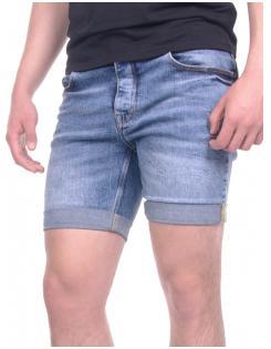 Devergo férfi farmer short