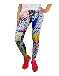 Adidas Originals női leggings SUPER LO LE AOP