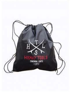 Heavy tools unisex-GYM16 black-tornazsák