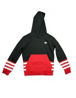 Adidas Originals fiú kapucnis pulóver