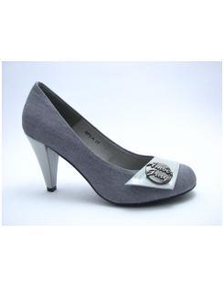 Ambergray női gombos cipő