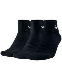 Nike unisex zokni- 001 101 901  3PPK CUSHION QUARTER