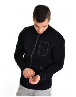 Devergo férfi zippes pulóver
