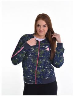 Devergo női zippes pulóver
