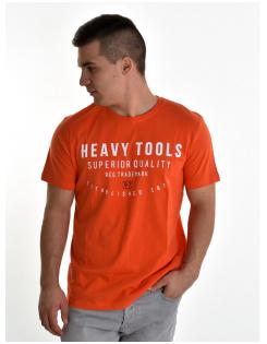 Heavy Tools férfi póló MEANS orange