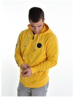 Heavy Tools férfi zippes-kapucnis pulóver SONNY yellow