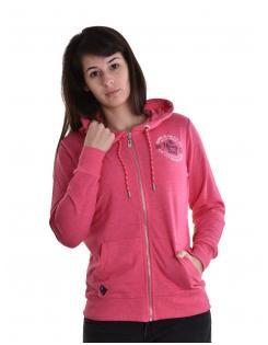 Heavy Tools női zippes-kapucnis pulóver SALMONA strawberry