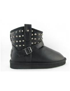Retro n�i csizma LIA RIVET LOW