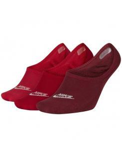 Nike női zokni Sportswear Footie Socks (3 Pair)