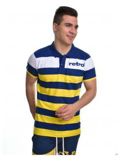 Retro Jeans férfi galléros póló GARFIELD POLO